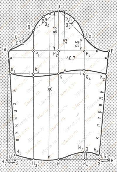 Patrones de dibujo de una sola costura mangas