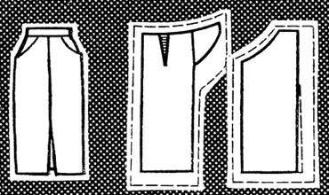 Схемы моделирования юбки